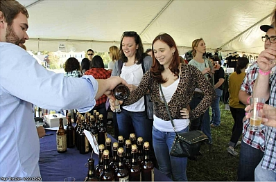 Festival goers enjoying the inaugural Pour The Core in October 2012. Photo courtesy Starfish Junction Productions.