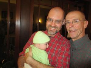 Ben, Eric, and Heron enjoying Cider Week Virginia