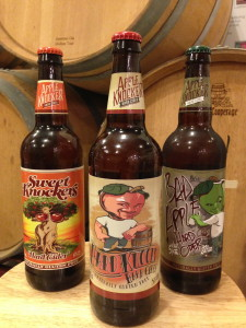 Apple Knocker Hard Cider Bottles