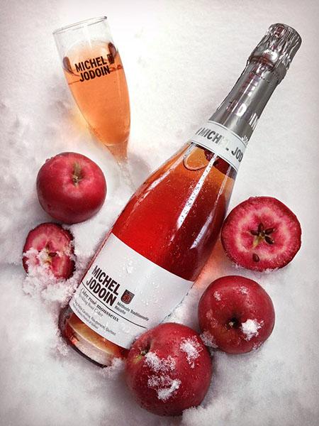 Michel Jodoin Sparkling Rosé Cider