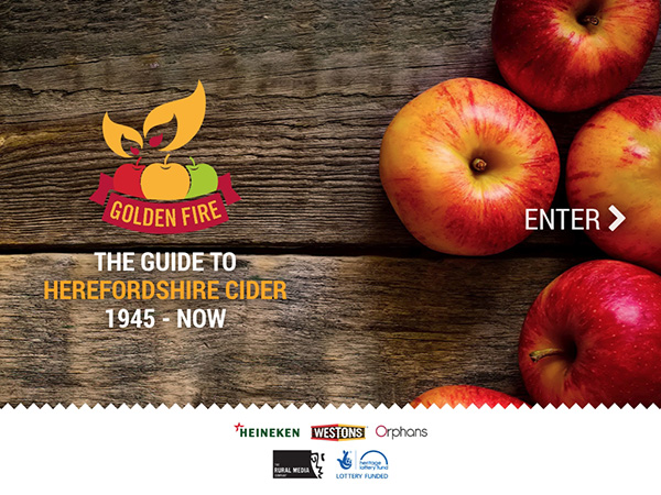 Herefordshire Cider | Golden Fire
