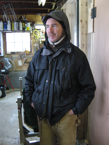 Andy Brennan of Aaron Burr Cider