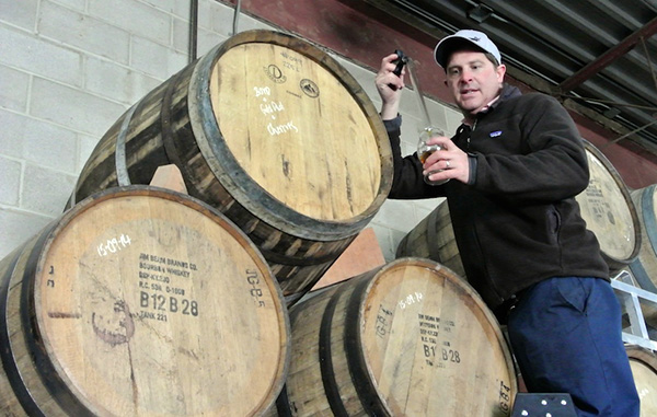 Chris Haworth of West Avenue Cider