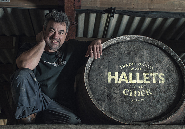 Andy Hallet of Hallets Real Cider