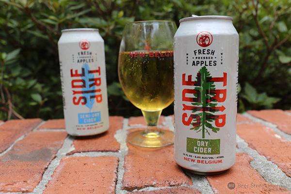 New Belgium Side Trip Cider