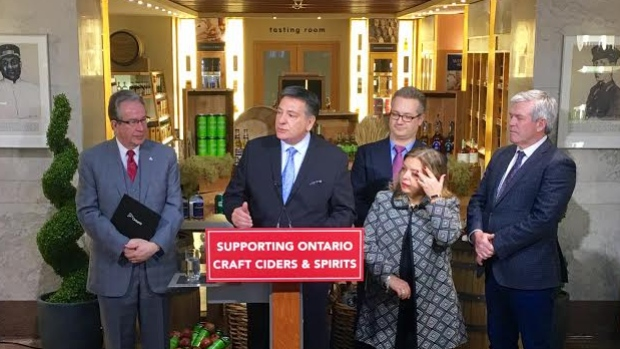 Ontario's Small Cidery Support Program