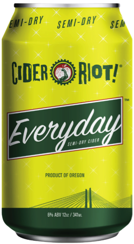 Cider Riot! Everyday Semi-Dry Cider