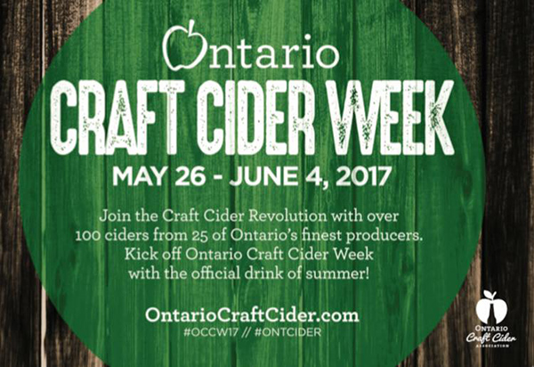 Ontario Craft Cider Week 2017