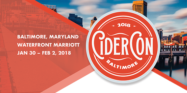 CiderCon 2018 in Baltimore