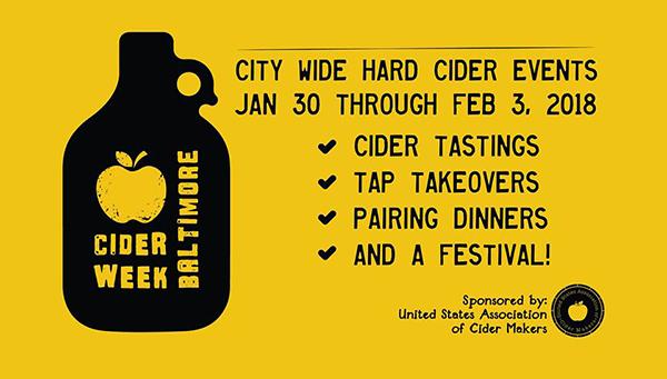 Cider Week Baltimore